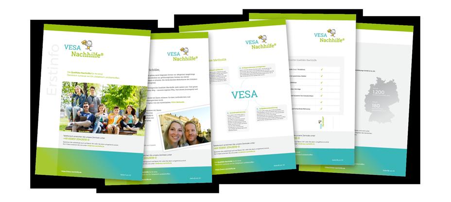 VESA Einzel-Nachhilfe Erstinfo-Broschüre